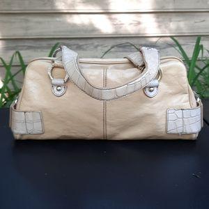 Franco Sarto Leather Buckle hand bag